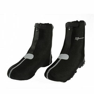 RockBros Black Cycling Warm Cover Protector Overshoes Shoe Cover One Size Black