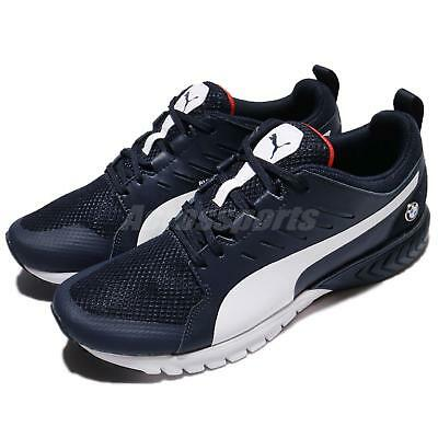 8d624d4c78645f Puma BMW MS Pitlane Team Blue White High Risk Red Men Shoes Sneakers  305991-01