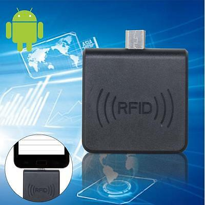 Black USB RFID ID Card Reader 125KHZ For Access Control Android Phone BO BO