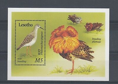 Timbre Stamp Bloc Lesotho Y&t#? Oiseau Bird Neuf**/mnh-Mint 1990 ~A68