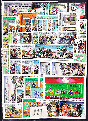 Libya - Mnh - 237 Stamps - War - Architecture