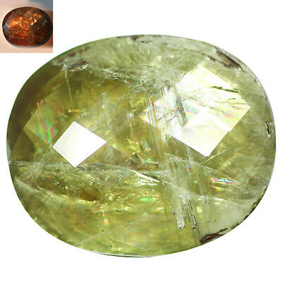114.90Ct Charming Oval Cut 36 x 30 mm AAA Color Change Turkish Diaspore