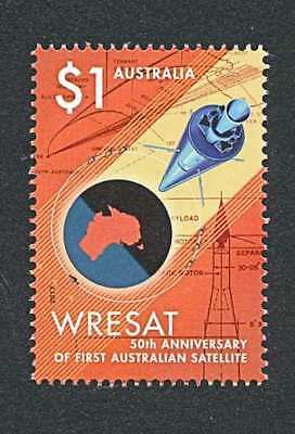 Australia  2017  Wresat  Satellite   $1 (Single)  Gummed   Mnh