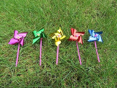 200 Colourful Flower DIY MINI Windmill wholesale Mixed Color