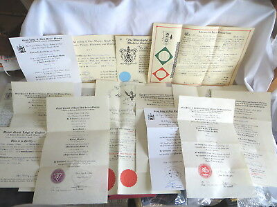 15  Masonic Certificates Awarded To Peter Graham Oliver  (62)