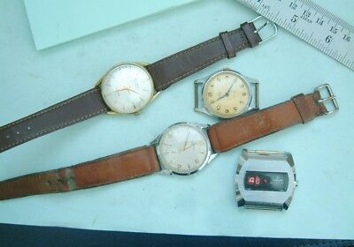 Watchmakers wristwatches Vintage wristwatches for repair or spare parts Nice