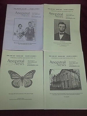 Ancestral Trails Historical Society News  14 Issues 2003-2009 Kentucky Genealogy
