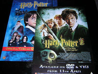 2 Original Harry Potter Promotional Posters