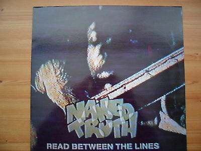 """Naked Truth - Read Between The Lines - 12"""" Vinyl Single"""