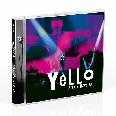Yello - Live In Berlin (Preorder Out 3rd November) (NEW 2 x CD)