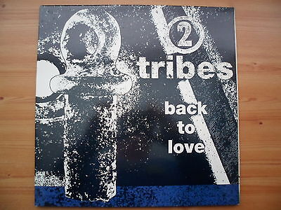 """2 Tribes - Back To Love - 12"""" Vinyl Single - Gatefold Picture Cover"""
