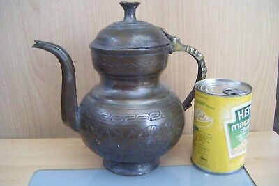 antique middle eastern/turkish? tea/coffee pot