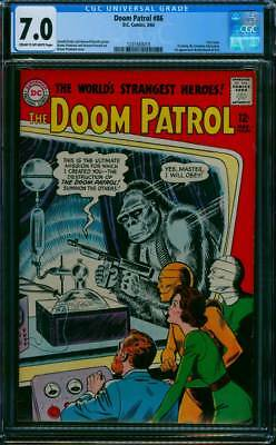 Doom Patrol # 86  First Issue of own Title !   CGC 7.0 scarce book !