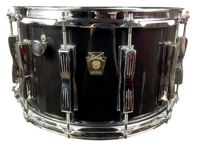 Ludwig 80'S Monroe Badge 12 Lug 14 x 8 inch Coliseum Snare Drum (Pre-Owned)