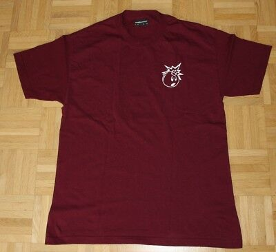 "The Hundreds T-Shirt ""Forever Simple Adam"", Gr. L, burgundy"