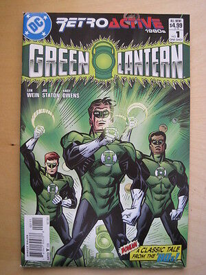 GREEN LANTERN 64 PAGE GIANT ONE-SHOT. RETROACTIVE 1980's. ALL NEW STORY. DC 2011