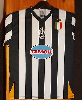 Juventus F.C short sleeve home top Tamoil Del Piero 10 on back