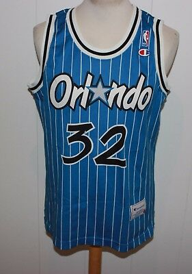 MIT SCHADEN CHAMPION No 32 ORLANDO MAGIC O'NEAL TRIKOT NBA GR L