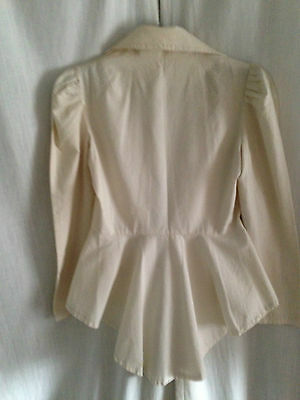 Calico suit Jacket and skirt  Vintage  1970s   Retro