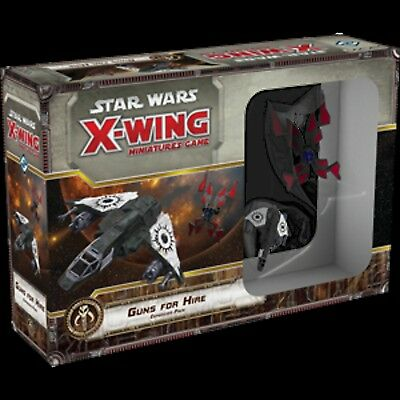 Guns for Hire Expansion Pack:  X-Wing Mini Game (Pre-Order 26th October 2017)