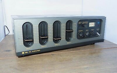 TOA TA-406E PA Amplifier Public Address amp