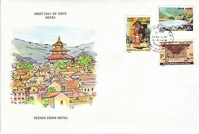Nepal - Tourism Issue (PO FDC) 1978