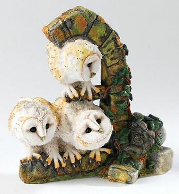 Country Artists Barn Owlets Ca00342 New And Boxed.