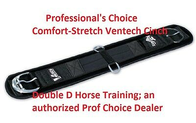 "Professional's Choice 34"" VenTECH COMFORT STRETCH Western CINCH Prof Pro Black"