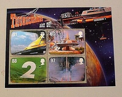 2011 'Gerry Anderson - Thunderbirds' sg MS3142 - Fine used