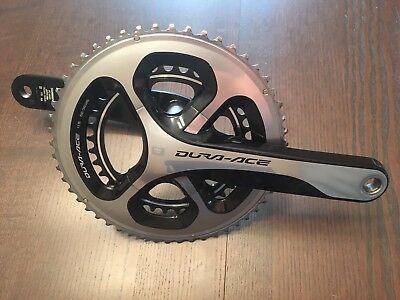 Shimano Dura Ace 9000 11sp Crankset 175mm Crank Arms and 52/36 Chainrings.