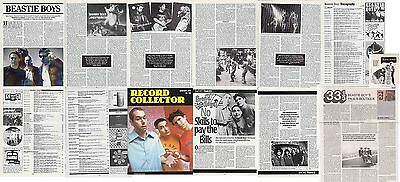 BEASTIE BOYS : CUTTINGS COLLECTION -magazine articles-