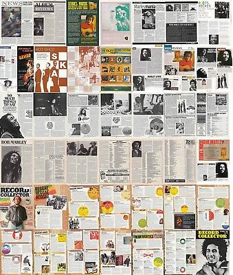 BOB MARLEY : CUTTINGS COLLECTION -magazine articles-