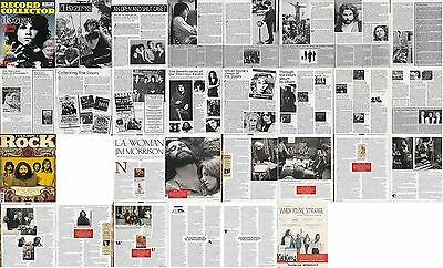 THE DOORS : CUTTINGS COLLECTION -magazine articles-
