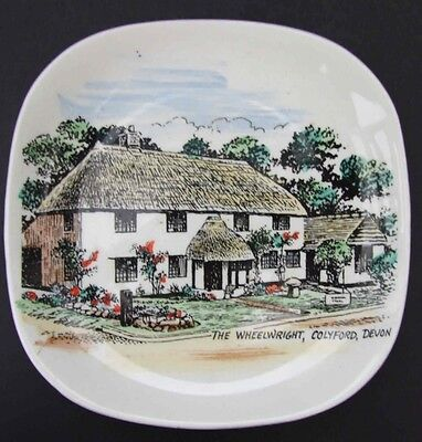Colyford The Wheelwright Lord Nelson Pottery Small Dish