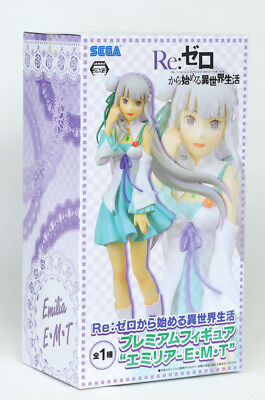 Re:zero Pm Figure Emilia (Re:life In A Different World From Zero) Sega 2017