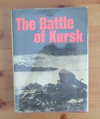 rare KURSK WW2 BATTLE BOOK PRINTED IN USSR IN ENGLISH