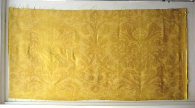 Vintage Beautiful  Mid 20th Century Italian Fortuny Print Fabric (8483)