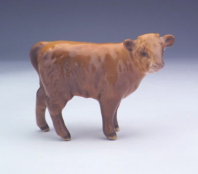 Beswick Pottery - Hand Painted Highland Calf Figure - Lovely!