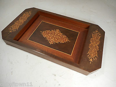 Inlaid Sorrento Ware Tray  ref 1082