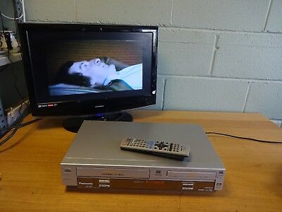 Panasonic NV-VP31 DVD Player VCR VHS Recorder/Player, Combo Combi,Remote