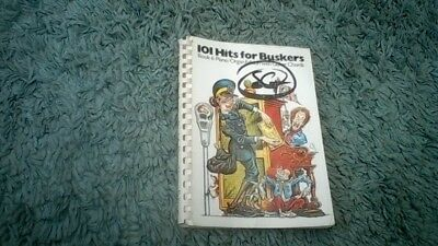 Sheet Music Book 101 Hits for Buskers Book 6 Piano Organ Accordion Guitar Voice.
