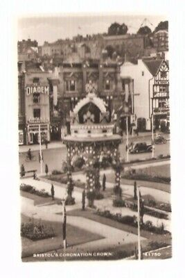PC - Bristol's Coronation Crown - 41750 - This is a Real Photograph - Barton