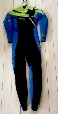 O'neill Youth Superfreak Fz 5/4Mm Full Wetsuit. Age 10.  O'neill Wetsuits