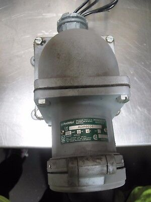 Appleton Powertite Adr6034 Explosion Proof Receptacle Very Nice Take Out
