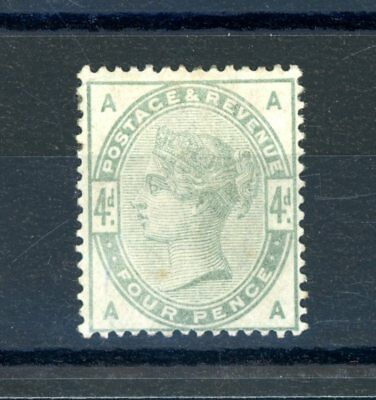 Great Britain 1883  4d Green  (SG 192)  Heavily Hinged MINT   (O1294)