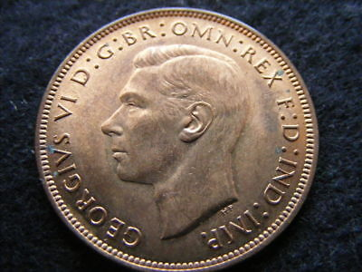 1940 penny, some toning marks otherwise good lustre UNC