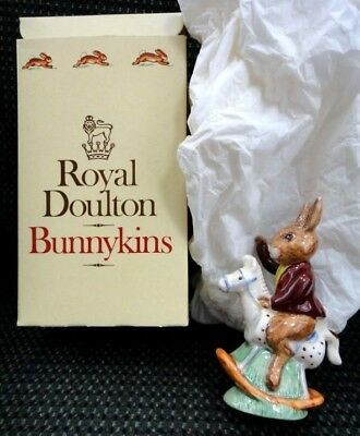 1974 vintage ROYAL DOULTON BUNNYKINS TALLYHO signed