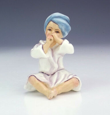 Royal Worcester Porcelain - Freda Doughty - India - Young Boy Figure - Lovely!