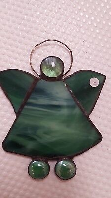 Angel Stained Gl Christmas Ornament Suncatcher Favor