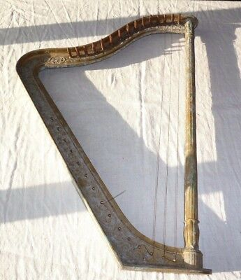 VINTAGE HARBERT ITALIANA MILANO SMALL HARP FOR RESTORATION C1950's